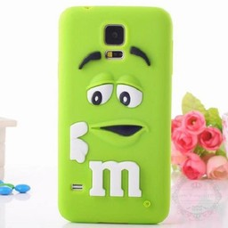 Samsung Galaxy S5 mini  M&M Groen