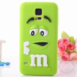 Samsung Galaxy S5 mini Siliconen hoesje M&M Groen
