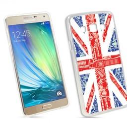 Samsung Galaxy A3 TPU hoesje UK vlag