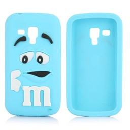 Samsung Galaxy Trend Plus M&M hoesje Blauw