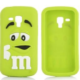Samsung Galaxy Trend Plus M&M hoesje Groen