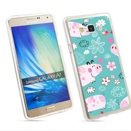 Samsung Galaxy A7 TPU hoesje Varketjes