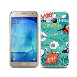 """Samsung Galaxy J7 TPU hoesje """"PAFF"""""""