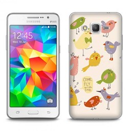 Samsung Galaxy Core Prime TPU hoesje Come fly with me