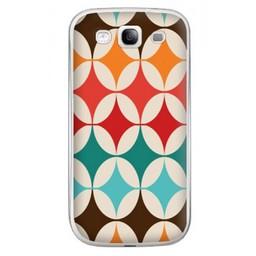 Samsung Galaxy S3 TPU Hoesje Retro Colours