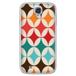 Samsung Galaxy S4 TPU Hoesje Retro Colours