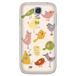 Samsung Galaxy S4 TPU Hoesje Come fly with me