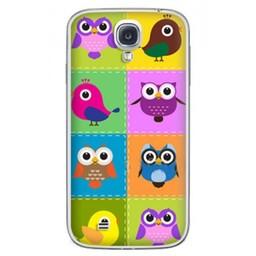 Samsung Galaxy S4 TPU Hoesje Birds