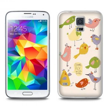 Samsung Galaxy S5 TPU Hoesje Come fly with me