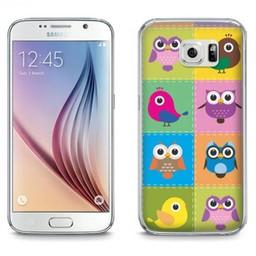 Samsung Galaxy S6 TPU Hoesje Birds