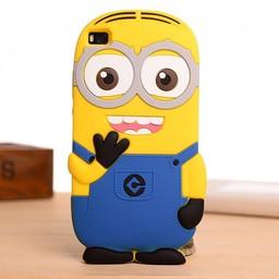 Huawei P8 Lite hoesjes Minion licht blauw