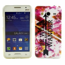 Samsung Galaxy Core 2 TPU soft case hoesje We Wild