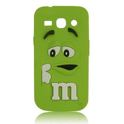Samsung Galaxy Core Plus siliconen M&M hoesje Groen