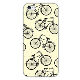 Iphone 5(s)TPU hoesje Bicycles