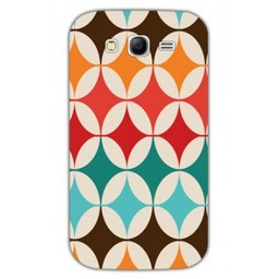 Samsung Galaxy Grand Neo/Grand Neo Plus TPU Hoesje Retro Colours 1