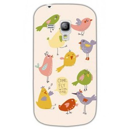 Samsung Galaxy S3 mini TPU hoesje Come fly with me