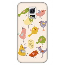 Samsung Galaxy S5 mini TPU hoesje Come fly with me