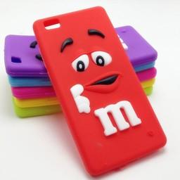 Huawei P8 Lite hoesjes M&M Rood