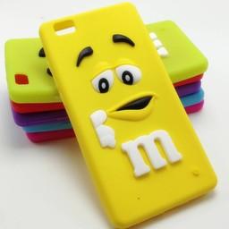 Huawei P8 Lite hoesjes M&M Geel