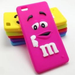 Huawei P8 Lite hoesjes M&M Rose