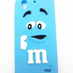 Huawei Ascend G630 hoesjes M&M Blauw