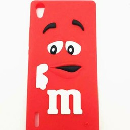 Huawei Ascend P7 hoesjes M&M Rood