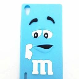 Huawei Ascend P7 hoesjes M&M Blauw