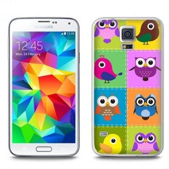 Samsung Galaxy S5 TPU Hoesje Birds Vogels
