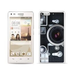 Huawei Ascend G6 TPU hoesje Camera
