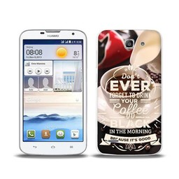 Huawei Ascend G730 TPU hoesje Coffee