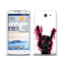 Huawei Ascend G730 TPU hoesje Hand