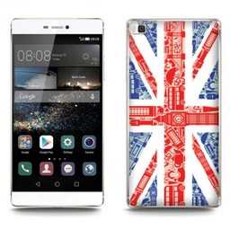 Huawei Ascend P8 Lite TPU hoesje UK vlag