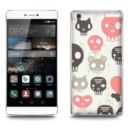 Huawei Ascend P8 Lite  Skulls Pink