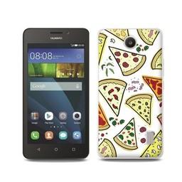 Huawei Ascend Y635 TPU hoesje Pizza