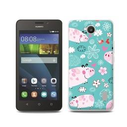 Huawei Ascend Y635 TPU hoesje Varkentjes