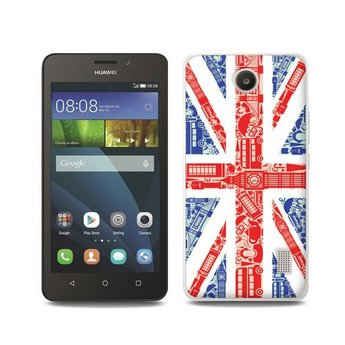 Huawei Ascend Y635 TPU hoesje UK vlag