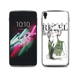 Alcatel One Touch Idol 3 (4,7 inch) TPU hoesje Rebel
