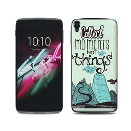 Alcatel One Touch Idol 3 (4,7 inch) TPU hoesje Moments