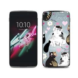 Alcatel One Touch Idol 3 katten Cats