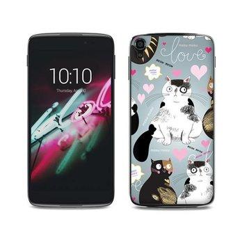 Alcatel One Touch Idol 3 (5,5 inch) TPU hoesje Cats