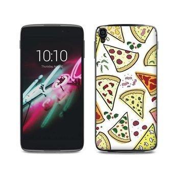 Alcatel One Touch Idol 3 (5,5 inch) TPU hoesje Pizza