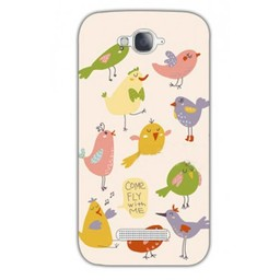 Alcatel Pop C7 TPU hoesje Come fly with me