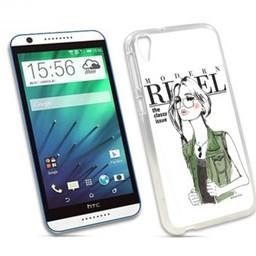 HTC Desire 820 TPU hoesje Rebel