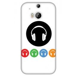 HTC Desire M8 TPU hoesje DJ