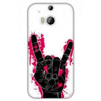 HTC Desire M8 TPU hoesje Hand