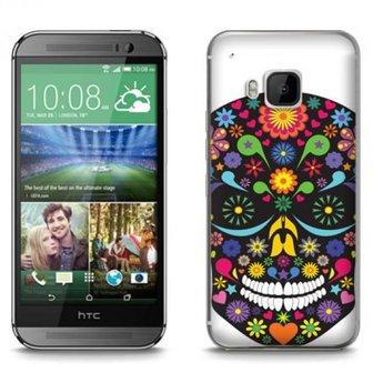 HTC Desire M9 TPU hoesje Skull