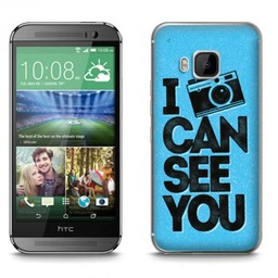 HTC Desire M9 TPU hoesje I can see you