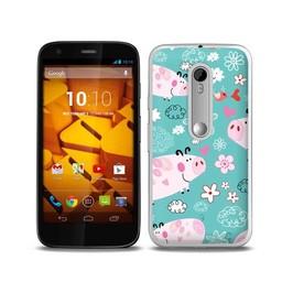 Motorola Moto G3 TPU hoesje Varkentjes