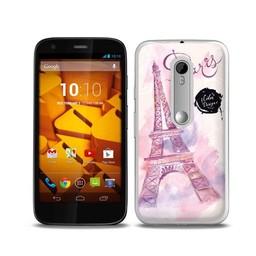 Motorola Moto G3 TPU hoesje Paris