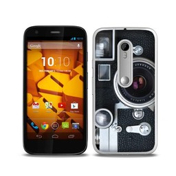 Motorola Moto G3 TPU hoesje Camera